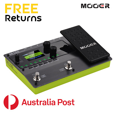 MOOER GE150 Amp Modelling And Multi Effects Processor Pedal Looper And IR Loader • 156.62£