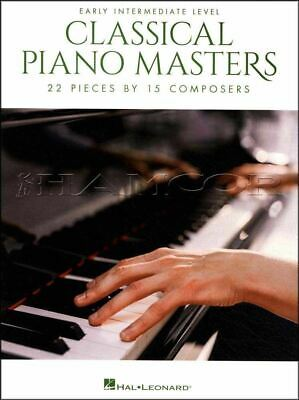 Classical Piano Masters Early Intermediate Level Music Book SAME DAY DISPATCH