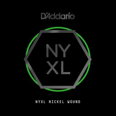 D'Addario NYNW042 NYXL Nickel Wound Electric Guitar Single String .042 • 4.39£