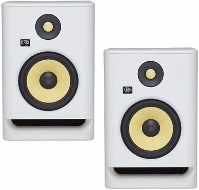 KRK RP5 Rokit 5 G4 Professional Bi-Amp 5 Powered Studio Monitors, White Noise - • 329.42£