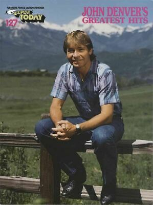 John Denver Greatest Hits E-Z Play Today Easy Keyboard Music SAME DAY DISPATCH