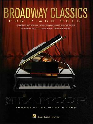 Broadway Classics for Piano Solo Sheet Music Book SAME DAY DISPATCH