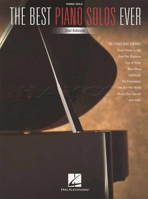 The Best Piano Solos Ever Sheet Music Book 2nd Edition Classical Irish Musiccals