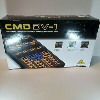 Behringer CMD DV-1 DVS-Based MIDI Module With Dual Effects, Deck Focus • 53.55£