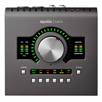 Universal Audio Apollo Twin MkII DUO Heritage Edition Thunderbolt 3 Interface • 722.87£