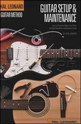 Guitar Set-up And Maintenance A5 Size Book Hal Leonard Guitar Method • 16.78£