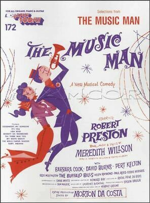 The Music Man E-Z Play Today Keyboard Sheet Music Book SAME DAY DISPATCH