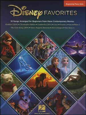 Disney Favorites Beginning Piano Solo Sheet Music Book Coco SAME DAY DISPATCH