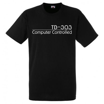 Roland TB-303 Computer Controlled Personalised Custom T-Shirt - Black / L • 9.99£