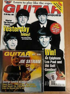 Guitar Techniques magazine & CD: May 1997