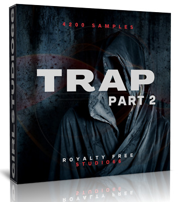 Trap Samples Pack 2 Wav Loops Ableton Logic Pro Bitwig Cubase Acid FL Studio One • 3.20£