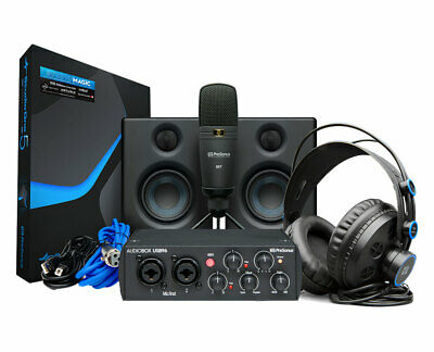 PreSonus AudioBox 96 Studio Recording Ultimate Bundle 25th Anniversary • 231.51£