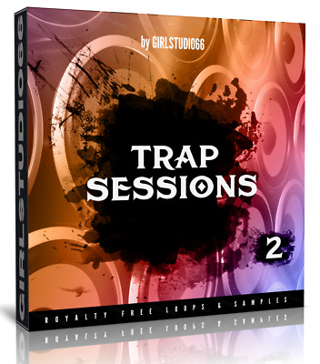 Trap Studio Sessions Pack 2 Wav Loops Logic Pro Bitwig Cubase FL Studio Ableton • 3.20£