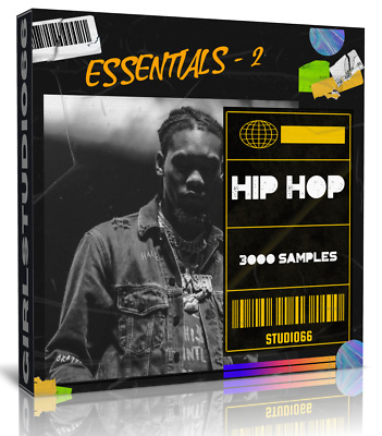 Hip Hop Essential 2 Samples & Loops For Ableton, FL Studio, Bitwig Cubase Logic • 3.20£