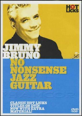 Jimmy Bruno No Nonsense Jazz Guitar Tuition DVD Learn How To Play • 21.98£