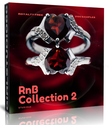 RnB Samples Pack 2 Wav Loops Ableton Logic Pro Bitwig Cubase FL Studio Acid • 3.20£