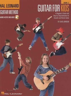 Hal Leonard Guitar Method for Kids 2 Book with Audio Learn How To Play