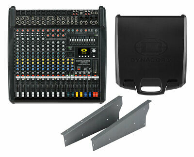 Dynacord CMS 1000-3 10ch Compact Mixer W/USB + Protective Lid + Rack Mount Kit • 1,518.81£