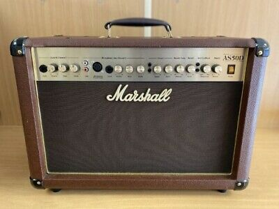 Marshall AS50D 50W Acoustic Guitar Amplifier • 219.99£