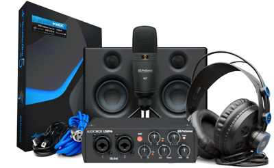 PreSonus AudioBox 96 Studio Recording Ultimate Bundle 25th Anniversary • 202.60£