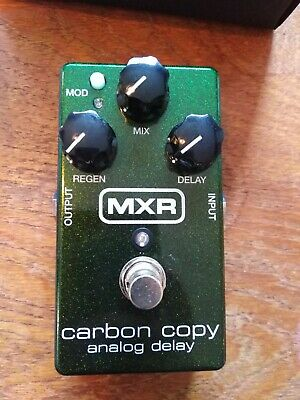 Mxr M169 Carbon Copy Analog Delay - Used/excellent Condition (in Box) • 86.35£
