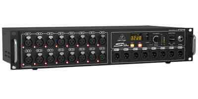 Bellinger 16 Input 8 Output Stage Box Combined With X32 S16 NEW • 678.91£
