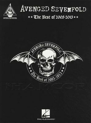 Avenged Sevenfold The Best Of 2005-2013 Guitar TAB Music Book Bat Country Walk