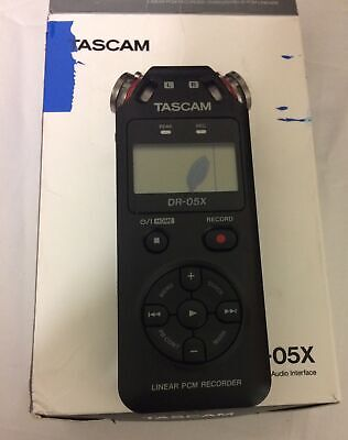 Tascam DR-05X Portable Audio Recorder Not Working Part Use Only. • 29.99£