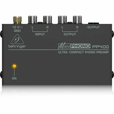 Behringer PP400 Microphono Ultra Compact Phono Preamp • 27.49£