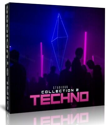 Techno Samples Pack 2 Wav Loops Ableton Bitwig Cubase Acid FL Studio Logic Pro • 3.20£