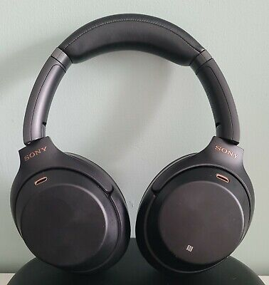 Sony WH-1000XM3 Wireless Noise Cancelling Headphones - Used, Non Original Case • 160£