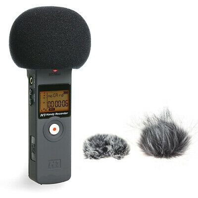 Furry Windscreen Muff Cover Foam Microphone Windproof Cover For Zoom H1 H1N SYH • 3.53£