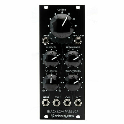 Erica Synths Black Low-Pass VCF Eurorack Module