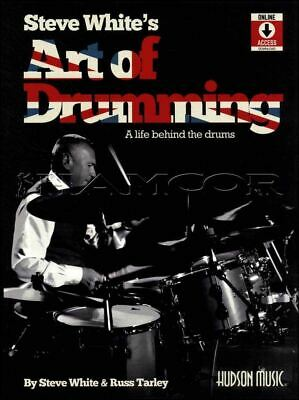 Steve White's Art of Drumming Sheet Music Book/Audio Drumset SAME DAY DISPATCH