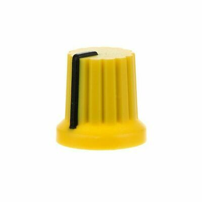 Doepfer A-100 Synth Module Coloured Rotary Knob (yellow, single)