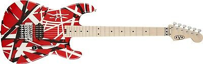 EVH Striped Series Red With Black Stripes • 863.08£