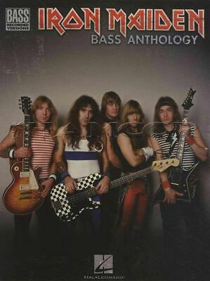 Iron Maiden Bass Anthology Bass Guitar Recorded Versions TAB Music Book
