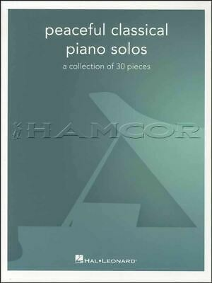 Peaceful Classical Piano Solos Sheet Music Book Bach Debussy SAME DAY DISPATCH