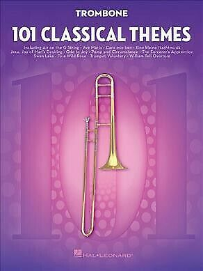101 Classical Themes For Trombone, Paperback By Hal Leonard Publishing Corpor... • 13.97£