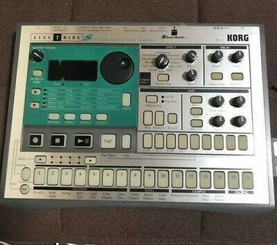 Used Korg Electribe ES-1Rhythm ES1 Sampler and Sequencer in Good Condition
