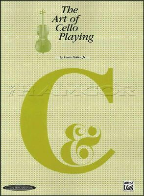The Art of Cello Playing Sheet Music Book Second Edition by Louis Potter Jr