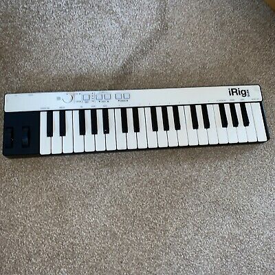 iRig KEYS PRO 37 Key Universal Keyboard Controller - Opened Never Used No Cable