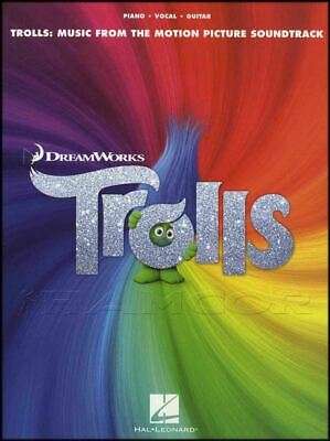 Trolls: Music from the Motion Picture Soundtrack Piano Vocal Guitar Music Book