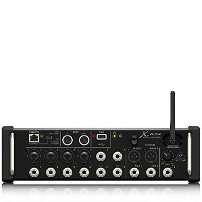 New Behringer Digital mixer X AIR 12 inputs For iPad Android tablet Wifi XR12