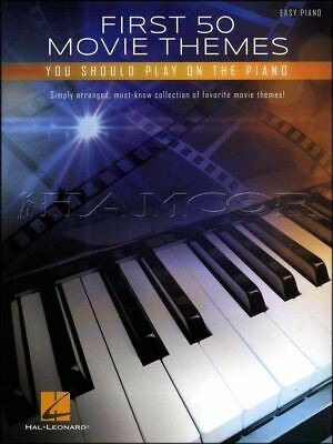 First 50 Movie Themes You Should Play On The Piano Music Book SAME DAY DISPATCH