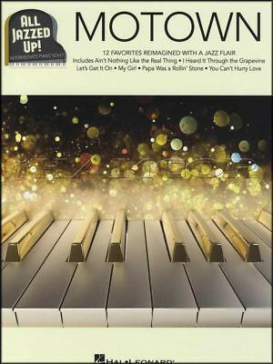 Motown All Jazzed Up Intermediate Piano Solo Sheet Music Book 12 Favorites