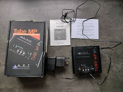Art Tube MP Original Preamp - Black, with box, adapter and manual