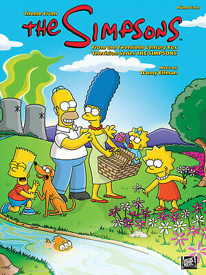 Theme from The Simpsons  Piano Danny Elfman Book Only HL00352981