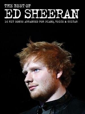 The Best Of Ed Sheeran 16 Hit Songs arranged for Piano, Vocal, Guitar Piano, Voc