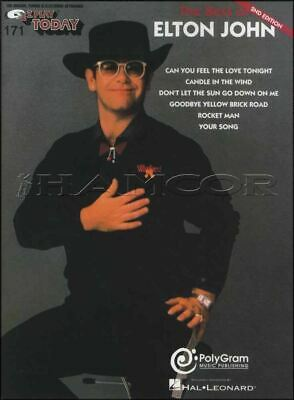 The Best of Elton John E-Z Play Today Sheet Music Book SAME DAY DISPATCH